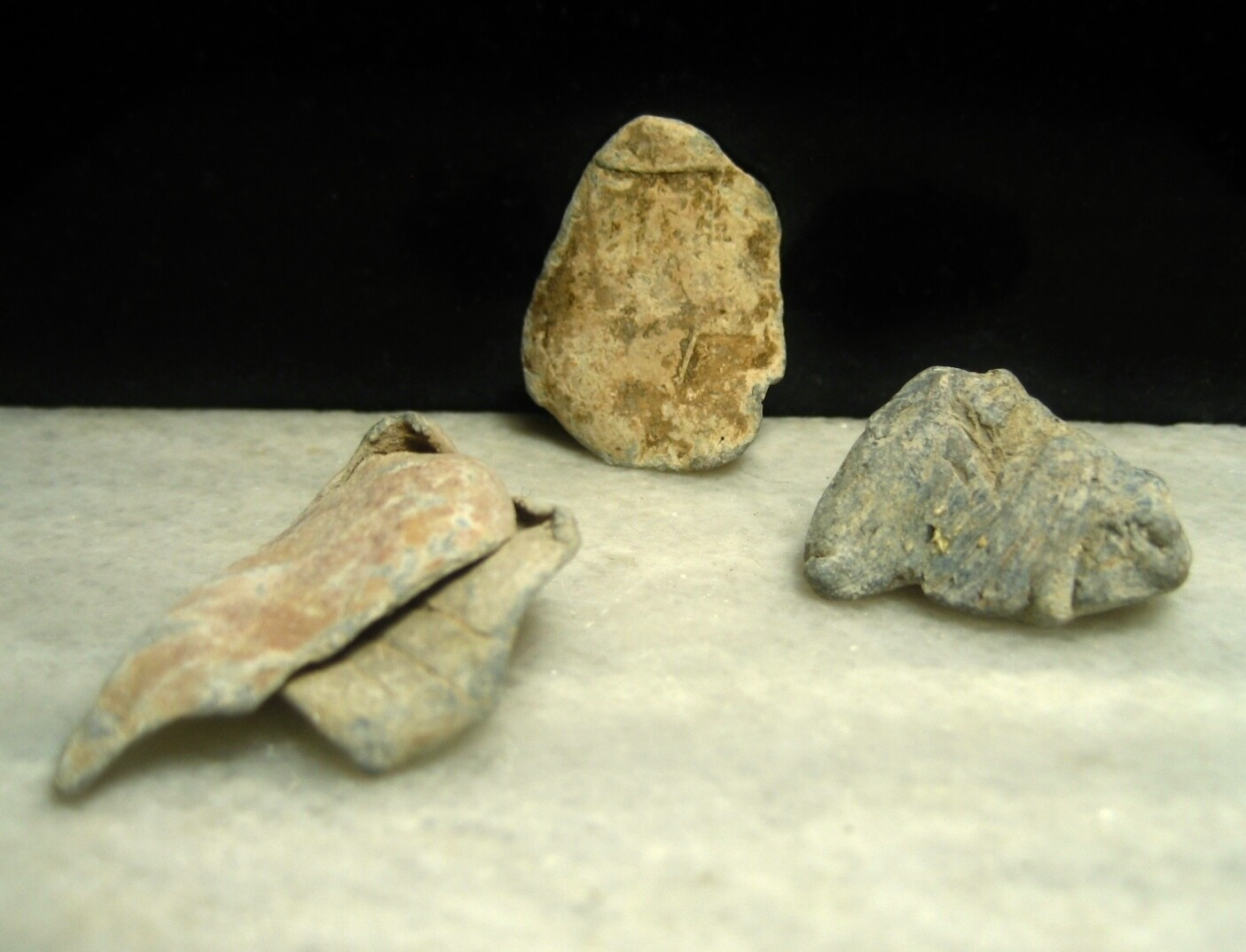 JUST ADDED ON 1/8 - THE BATTLE OF RINGGOLD GAP (CHATTANOOGA RETREAT) - Three High Impact Fired Bullet Fragments