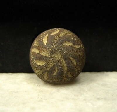 JUST ADDED ON 1/8 - THE BATTLE OF TREVILIAN STATION - Flower Cuff Button