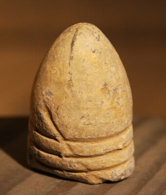 JUST ADDED ON 1/22 - GETTYSBURG - CULP'S HILL - Fired .69 Caliber Bullet