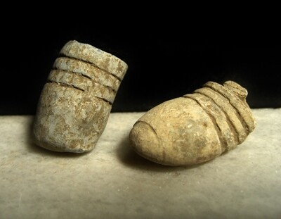 JUST ADDED ON 2/12 - BATTLE OF GETTYSBURG / CULP'S HILL - Two Fired Bullets including a Type I William's Cleaner with Ram Rod Impression