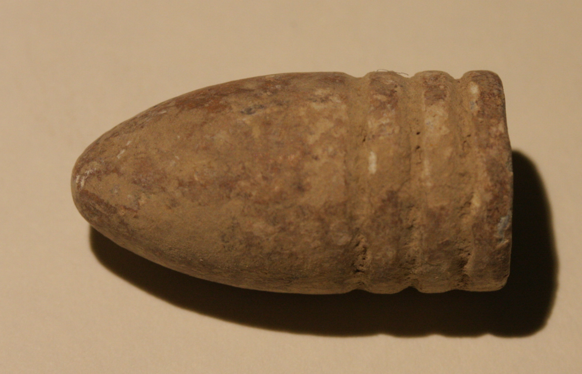 JUST ADDED ON 1/16 - ANTIETAM - BLOODY LANE / ROULETTE FARM - Dropped .54 Caliber Bullet A-BLRF01