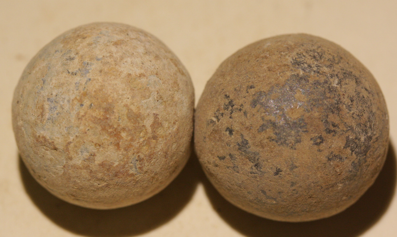 JUST ADDED ON 11/2 - THE BATTLE OF CROSS KEYS / THE BLUFF / JACKSON'S VALLEY CAMPAIGN - Two .69 Caliber Round Balls WB-CKB10