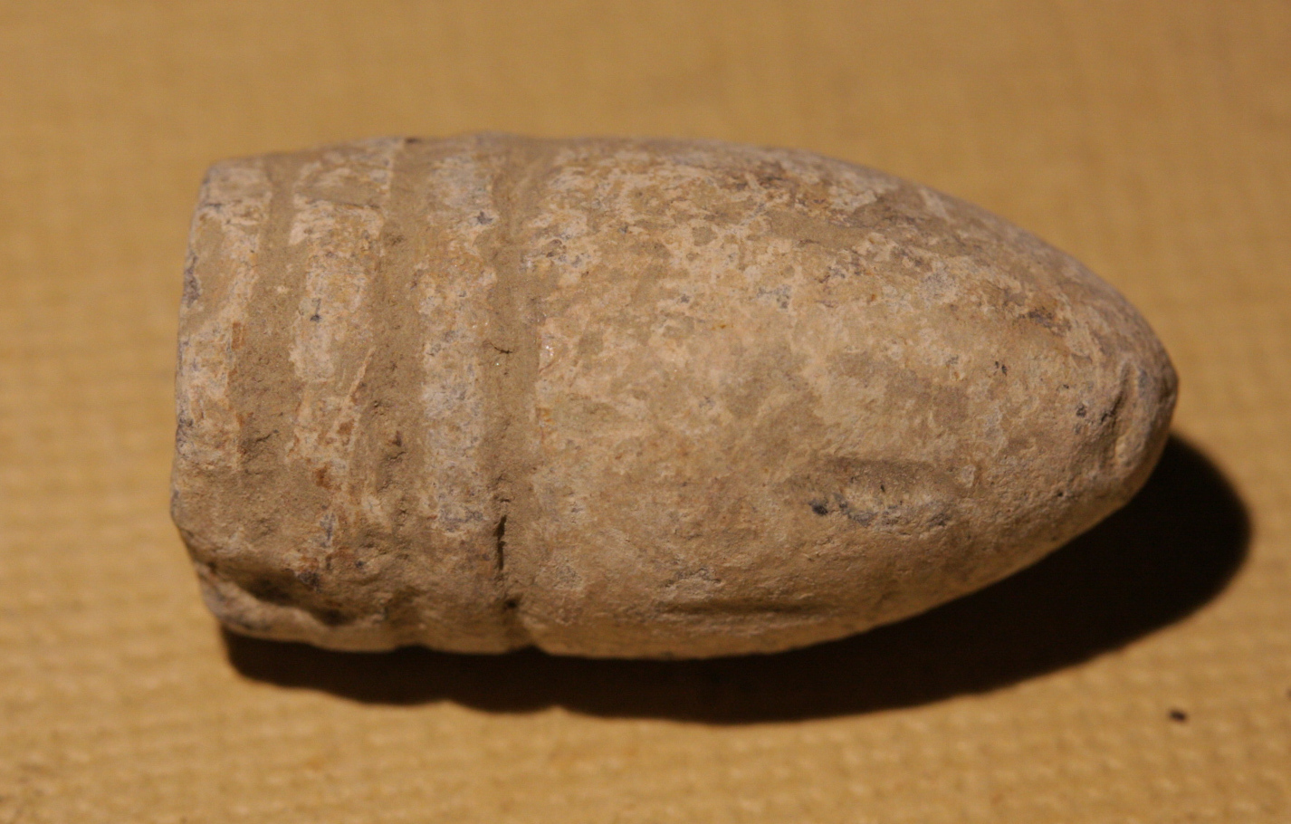 JUST ADDED ON 12/29 - SOUTHWEST OF GETTYSBURG HOSPITAL / PICKETT'S CHARGE / ROSENSTEEL COLLECTION - Fired Bullet GR-SWHR03