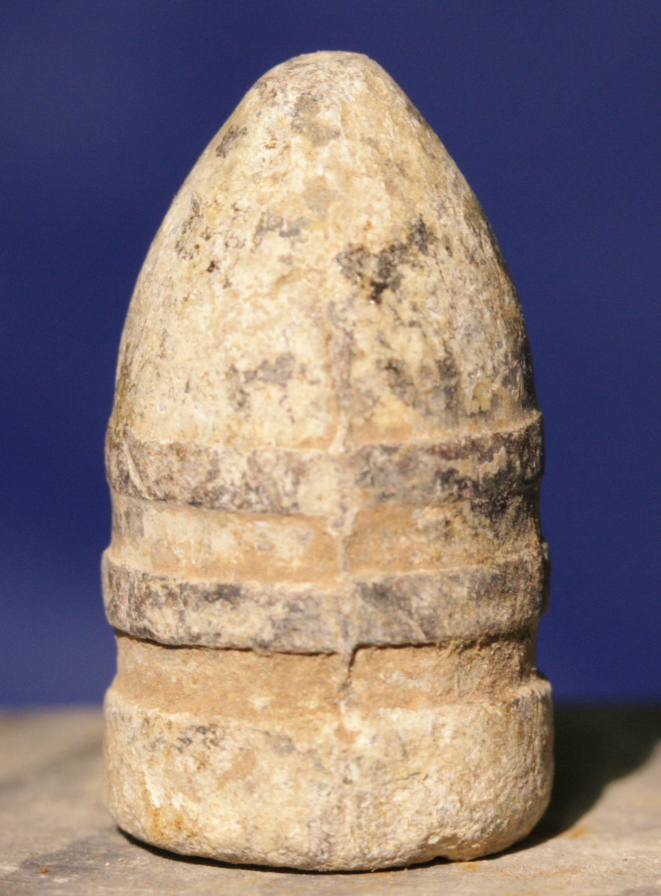 JUST ADDED ON 2/16 - SOUTHWEST OF GETTYSBURG HOSPITAL / PICKETT'S CHARGE / ROSENSTEEL COLLECTION - Sharps Bullet