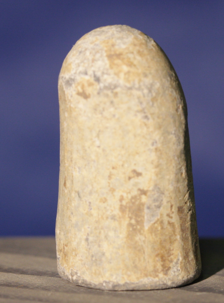 JUST ADDED ON 3/16 - THE BATTLE OF COLD HARBOR - Soldier Carved Plug Cavity (Enfield?) Bullet RGH-CHC01