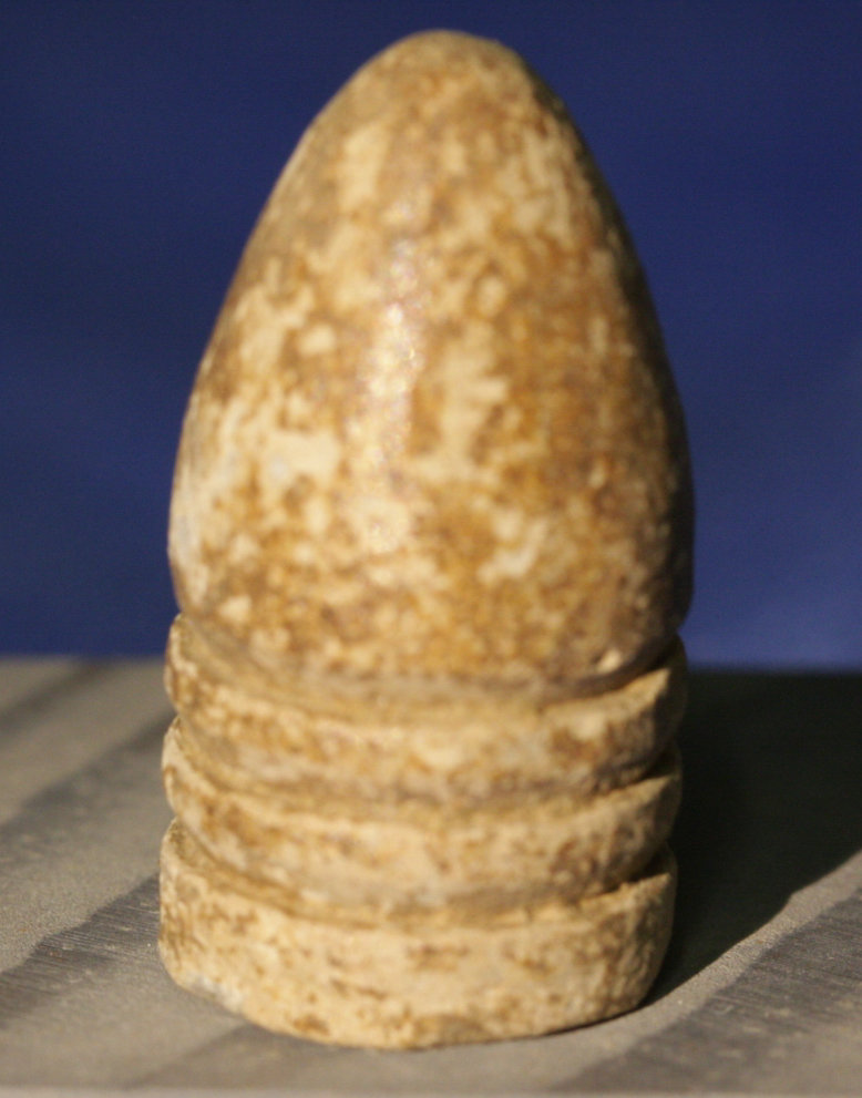 JUST ADDED ON 6/29 - GETTYSBURG / EMMITSBURG ROAD JUST SOUTH OF THE NMP BOUNDARY - .58 Caliber Bullet