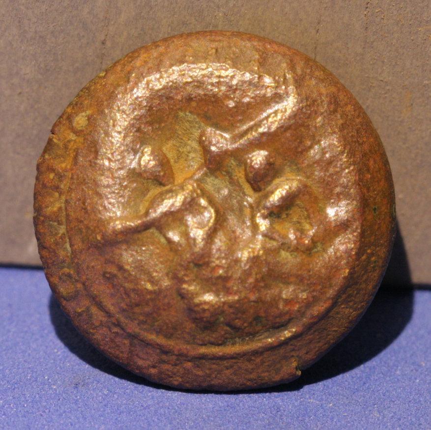 JUST ADDED ON 7/13 - GETTYSBURG - 1ST DAY'S BATTLE - MCPHERSON'S RIDGE - ROSENSTEEL FAMILY - A North Carolina Coat Button