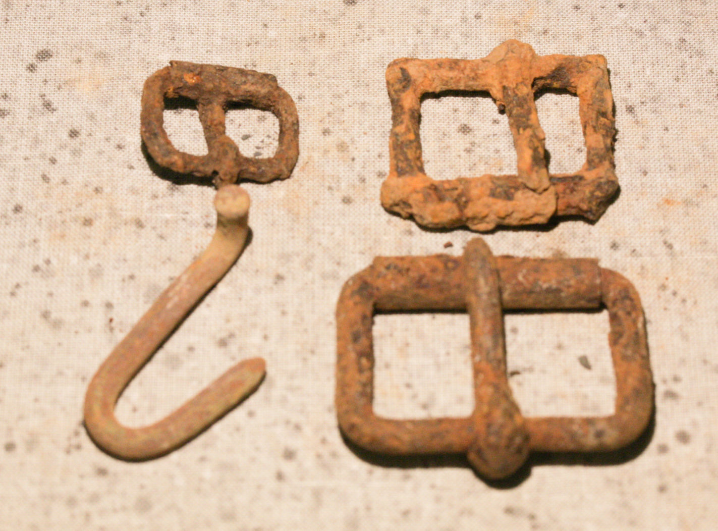 JUST ADDED ON 2/14 - THE BATTLE OF CEDAR CREEK - Three Roller Buckles & More WB-CCK38