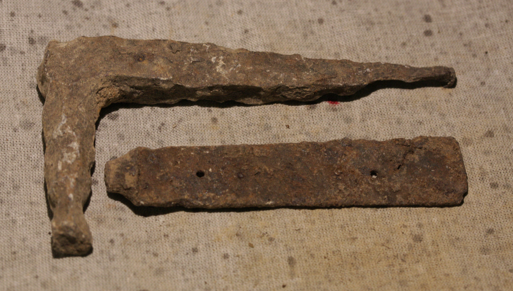 JUST ADDED ON 3/21 - THE BATTLE OF TOTOPOTOMOY CREEK - Two Iron Relics