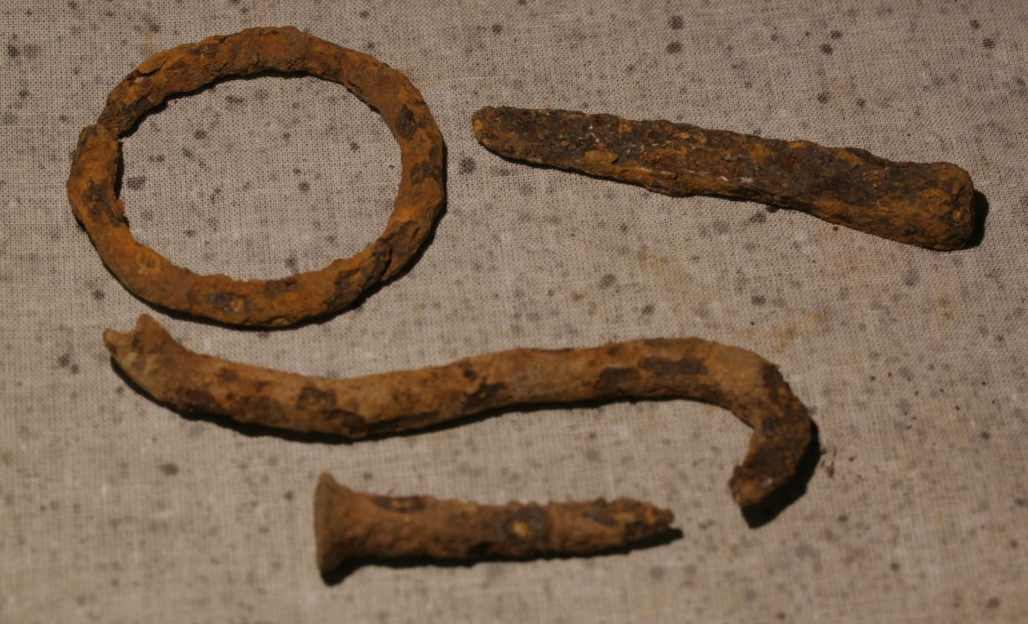 JUST ADDED ON 4/18 - CULPEPER, VIRGINIA - Four Iron Relics