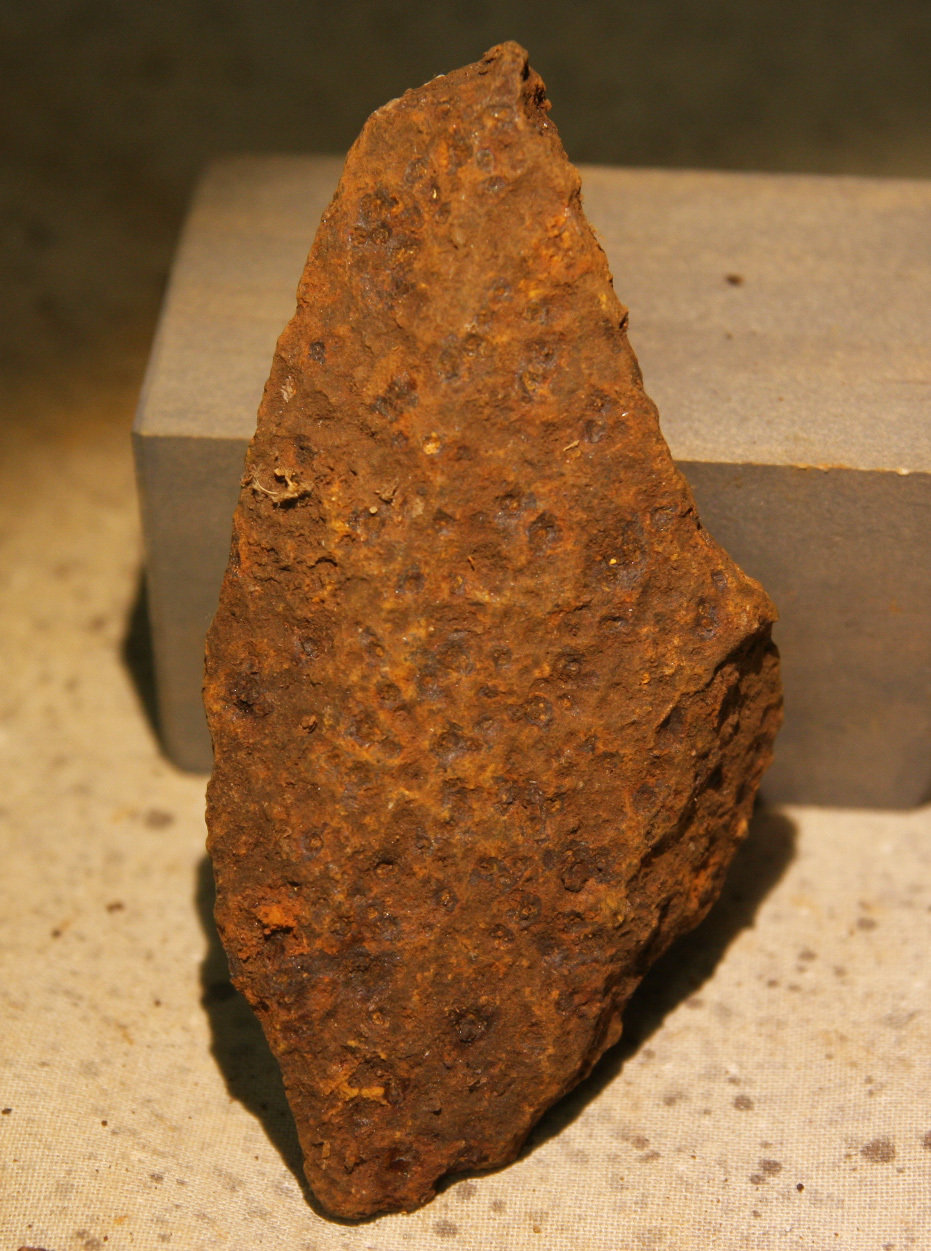 JUST ADDED ON 5/24 - GETTYSBURG / THE MUMMASBURG ROAD / OAK HILL AREA - Fragment of a Schenkl Artillery Shell GRMR100