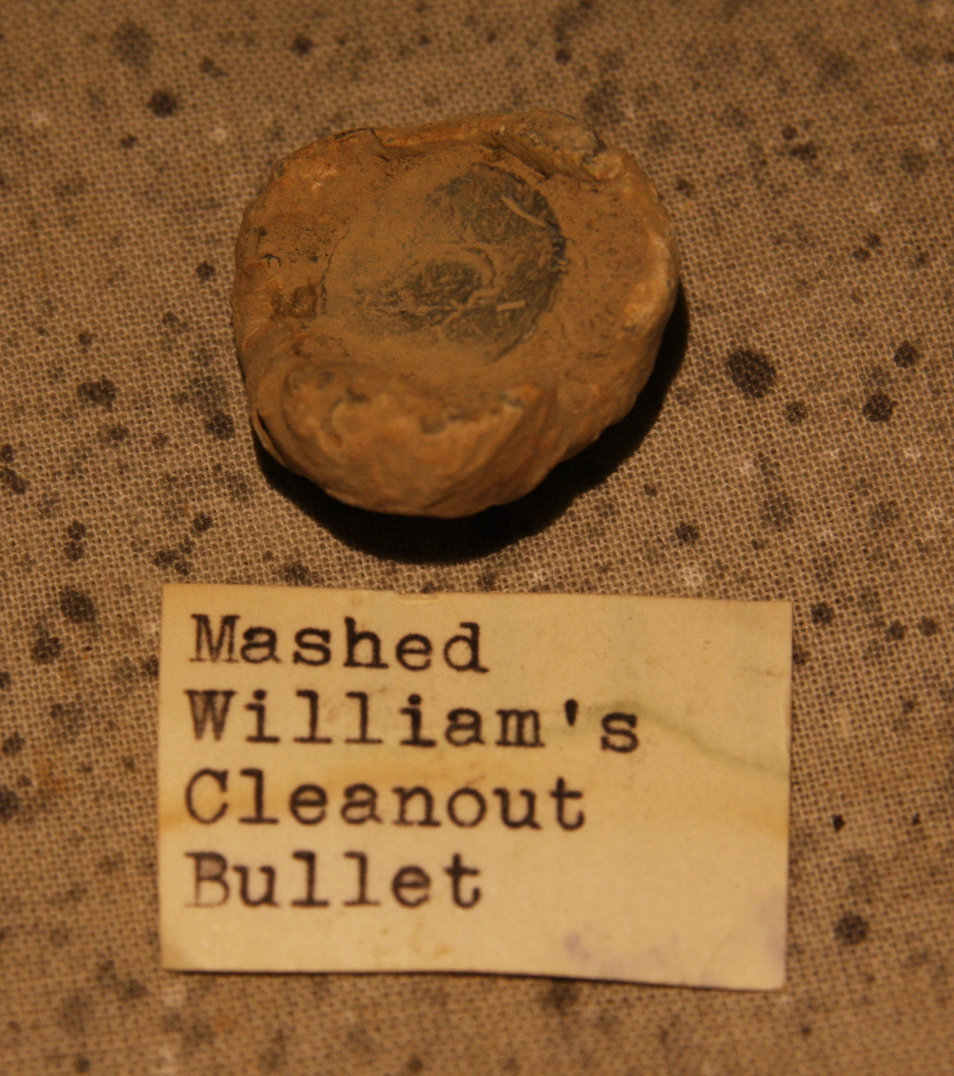JUST ADDED ON 6/6 - THE BATTLE OF GLENDALE / WHITE OAK SWAMP - Bullets with Original Collection Labels