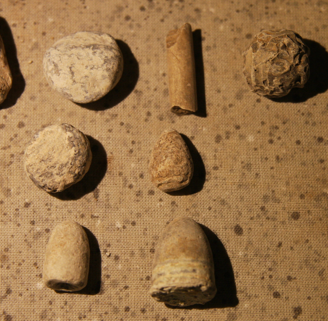 JUST ADDED ON 6/13 - HENRY DEEKS COLLECTION - 24 Bullets Including with Teeth Marks, Enfield, Pulled, Mushroomed, Pistol