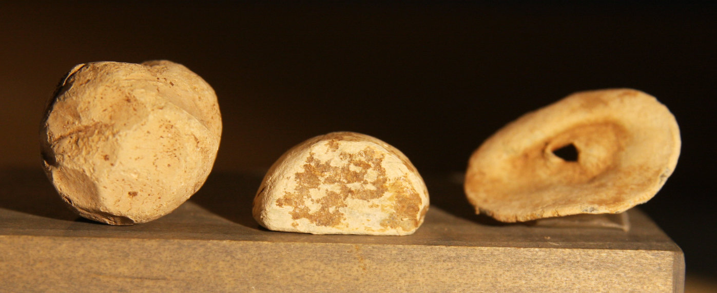 JUST ADDED ON 8/6 - THE BATTLE OF GETTYSBURG / EMMITSBURG ROAD - Three Carved Bullets