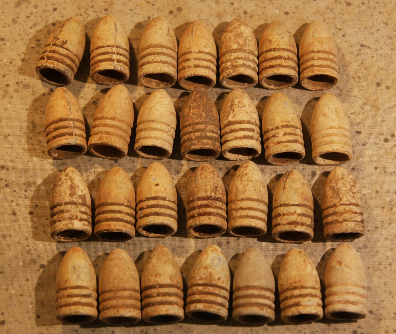 GETTYSBURG BULLETS FROM THE IVA ROSENSTEEL COLLECTION - Various Locations - Little Round Top, Devil's Den, etc. - YOU CHOOSE