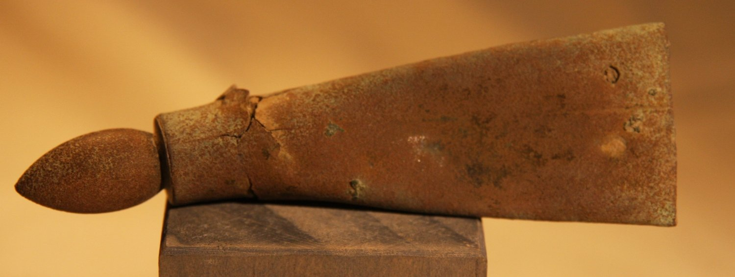 CLEARANCE - REDUCED 30% - 1861-1862 ZOUAVE WINTER CAMP NEAR POOLESVILLE, MD - Bayonet Scabbard Tip