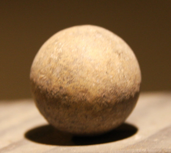 JUST ADDED ON 11/28 - ANTIETAM - POFFENBERGER WOODS  / WENTWORTH MILITARY ACADEMY COLLECTION - .69 Caliber Musket Ball found in 1956