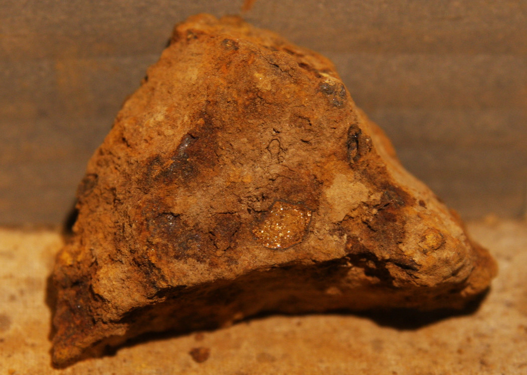 JUST ADDED ON 1/16 - THE BATTLE OF CHANCELLORSVILLE - Confederate Artillery Shell Fragment dug by Andy Keyser