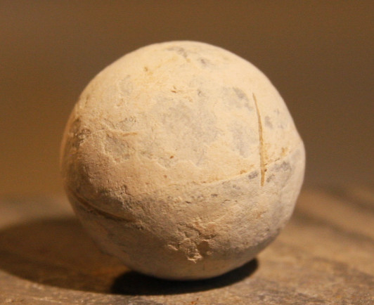 JUST ADDED ON 1/22 - THE BATTLE OF GETTYSBURG / EMMITSBURG ROAD JUST SOUTH OF THE POSITION HELD BY LAW'S BRIGADE - .69 Caliber Musket Ball