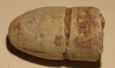 JUST ADDED ON 10/14 - GETTYSBURG - CULP'S HILL - Fired Confederate Gardner Bullet