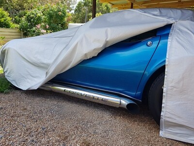 CORVETTE HIGH-QUALITY CAR COVER LEFT HAND ZIPPERED LEE2020