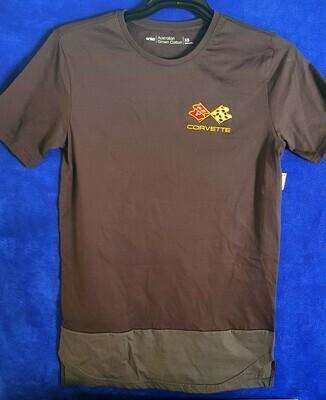 T-shirt with Corvette logo LEET02 3AA6