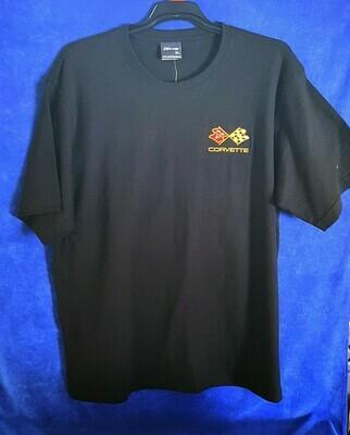T-shirt with Corvette logo  LEET01 3AA6