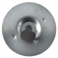 RETAINER AND PIN-UPPER HOOD INSULATION-68-79 (#E6531) 1D2