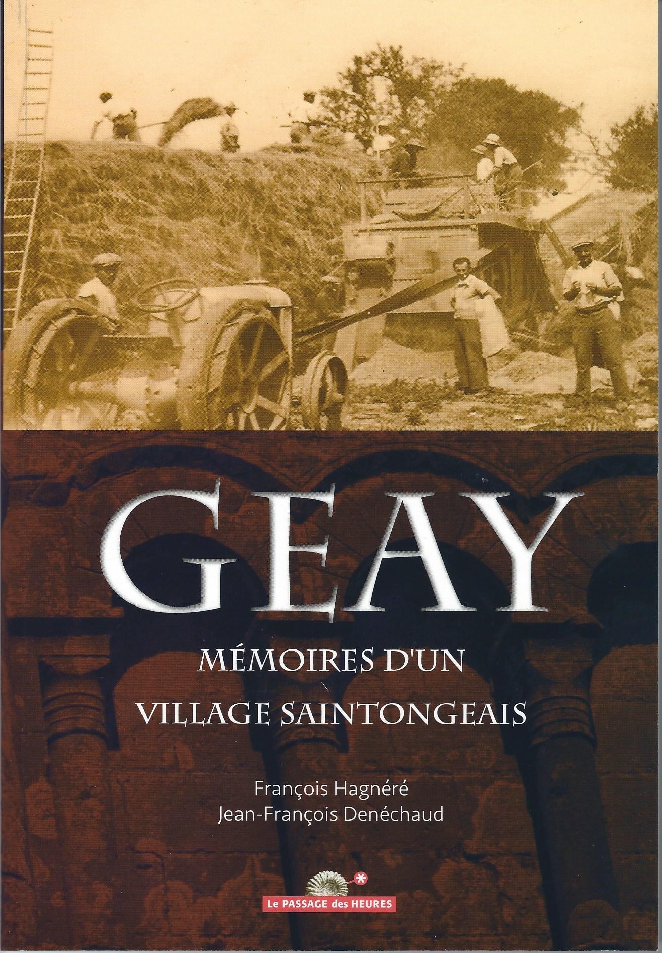Geay, mémoires d'un village saintongeais 0101