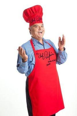 Delantal Rojo del Chef Pepín (Para Hombres y Mujeres)