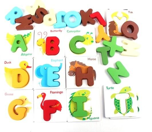 Alphabet Puzzle / Puzzle Abjad