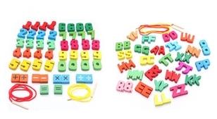 Jumbo Beads String - Combo 1 (Set A + Set B)