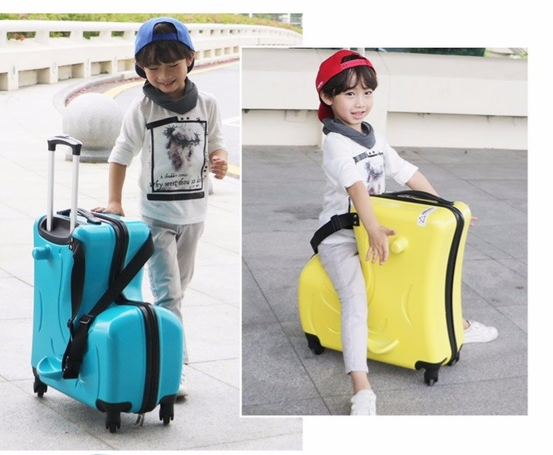 Ride-On Kids Luggage - 6 colors [Pre-Order]