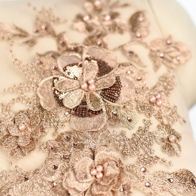 Emroidered Beaded 3D Patch Lace - LP03 [Pre-Order]