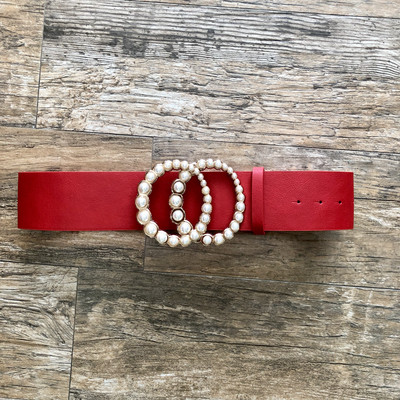 Red Pearls Belt