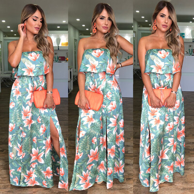 Caribeña Maxi Dress