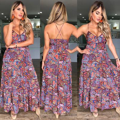 Bohemian Vibes Maxi Dress