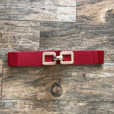 Red Spandex Belt