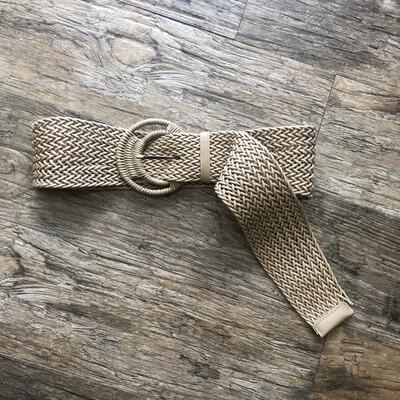 Cream Natural Belt