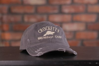 Crockett's Breakfast Camp Cap