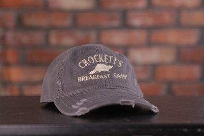 Crockett's Breakfast Camp Cap