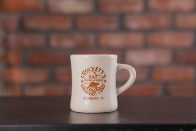 Crockett's Breakfast Camp Logo Mug