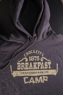 Crockett's Breakfast Camp Hoodie