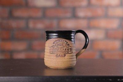 Crockett's Breakfast Camp Pottery Mug