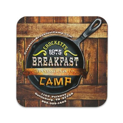 Crockett's Breakfast Camp Magnet