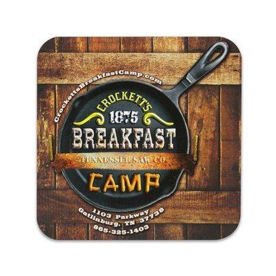 Crockett's Breakfast Camp Magnet