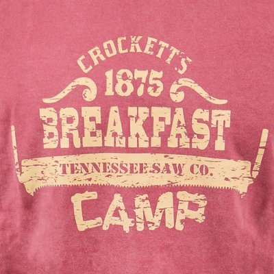 Crockett's Breakfast Camp T-Shirt