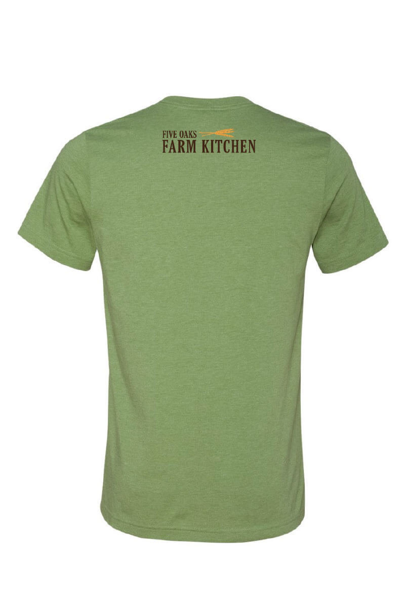 Five Oaks Farm Kitchen - Sunflower Short Sleeve Shirt (Back)