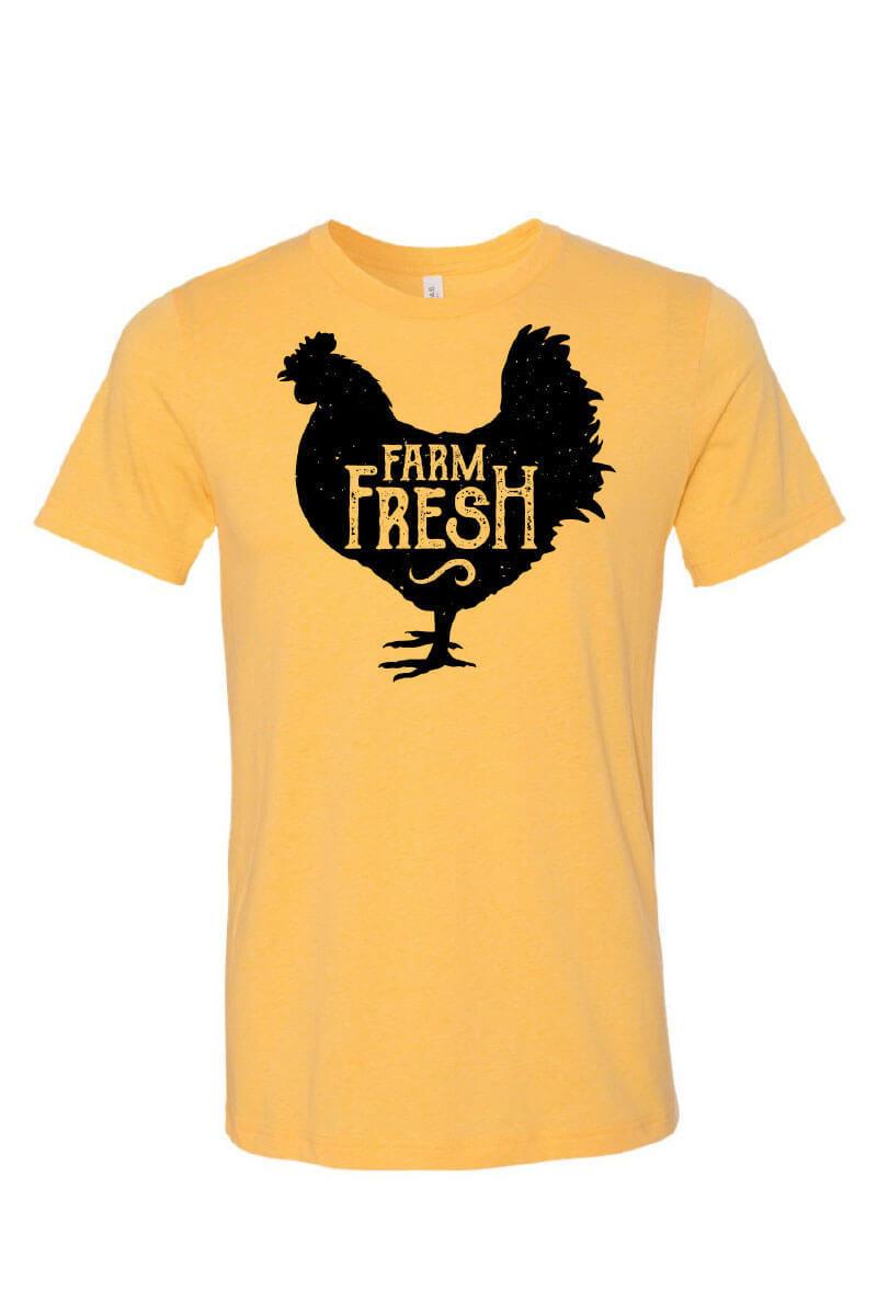 Five Oaks Farm Kitchen - Farm Fresh Chicken Short Sleeve Shirt (Front)