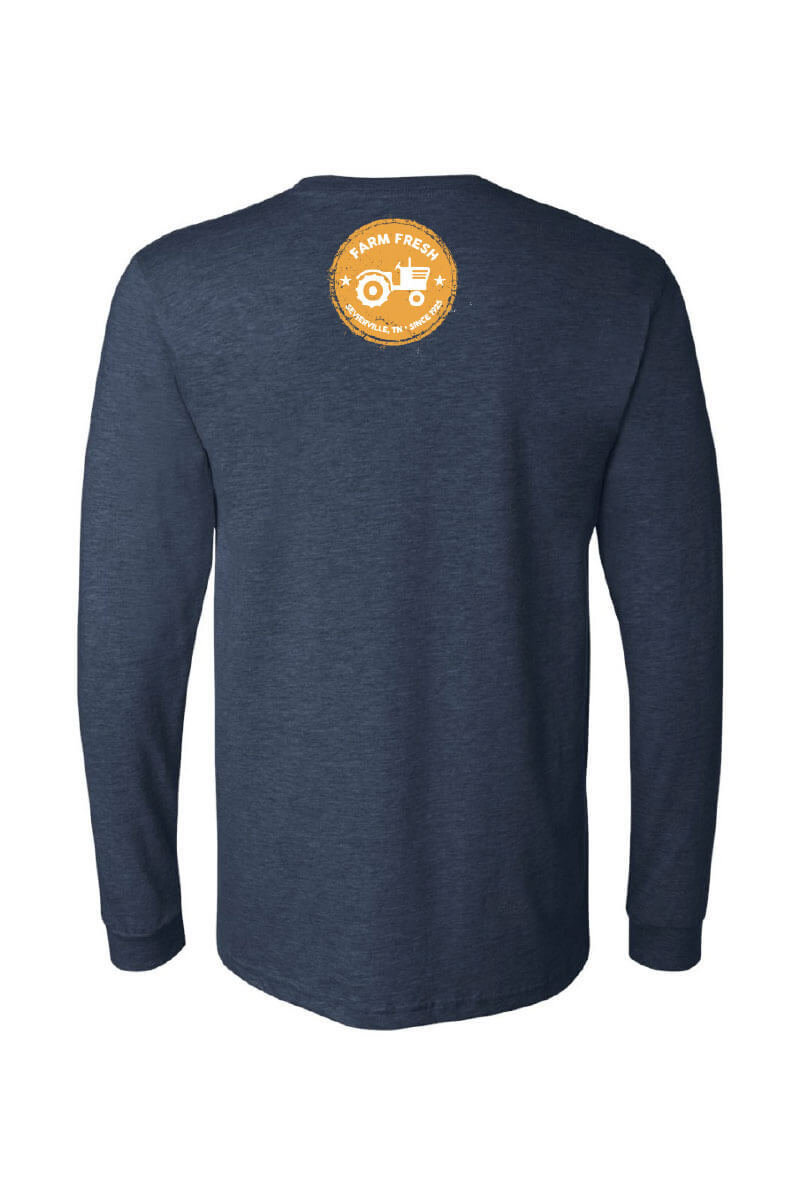 Five Oaks Farm Kitchen - Rise And Grind Long Sleeve Shirt (Back)